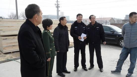 湘潭路街道办事处开展安全联合执法检查-青岛新闻网