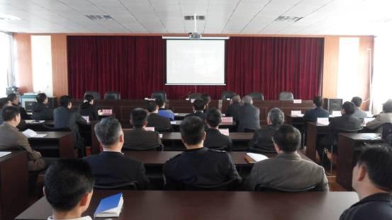 李沧区湘潭路街道办事处召开辖区安全生产工作会议